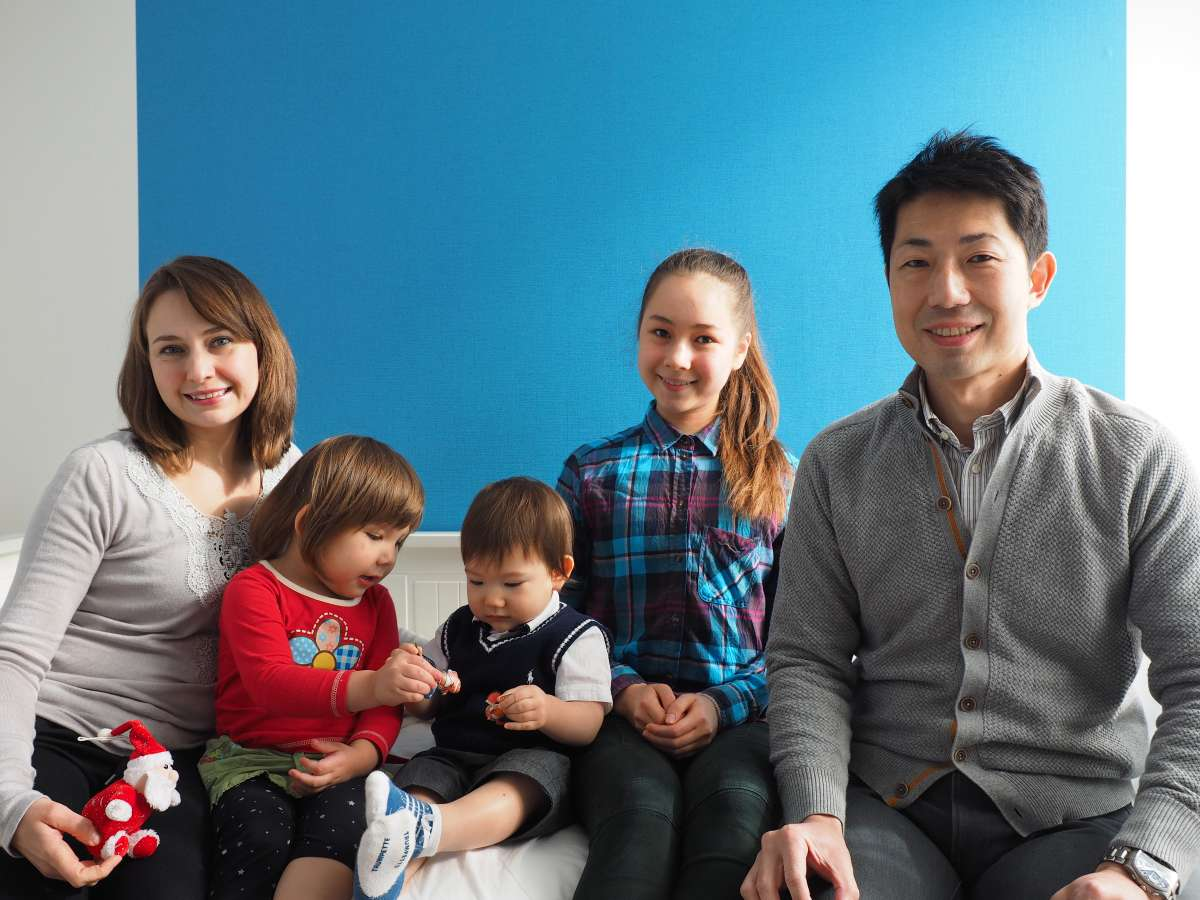 Host family in Mitaka, Japan