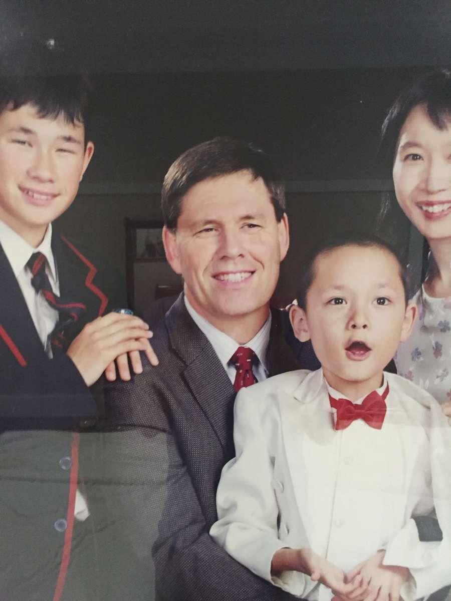 Homestay family Ian