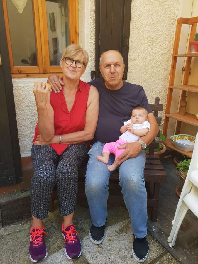 Host family in Florence, Italy