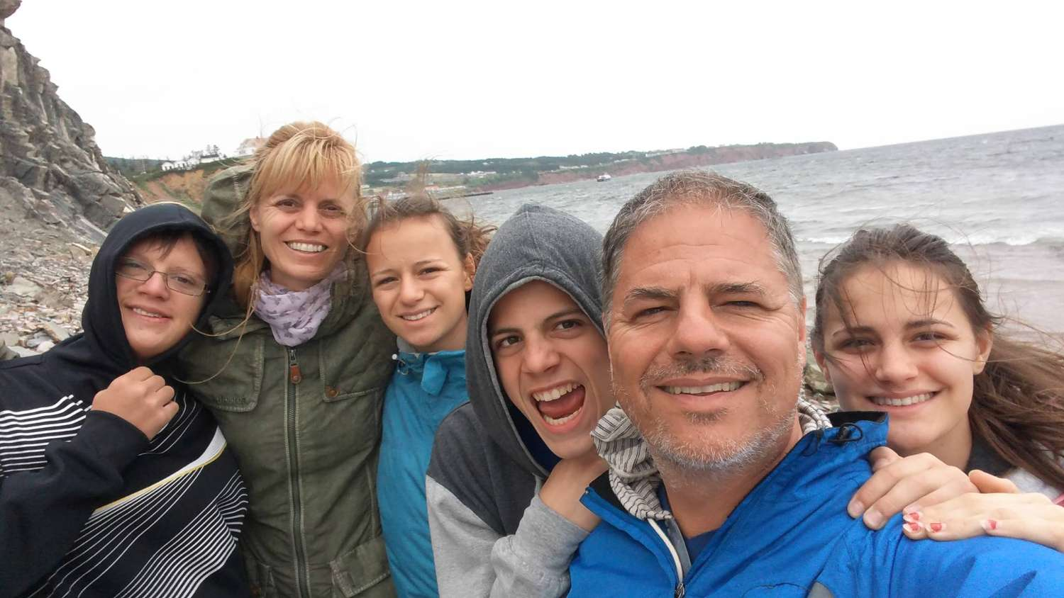 Host family in Gatineau, Canada