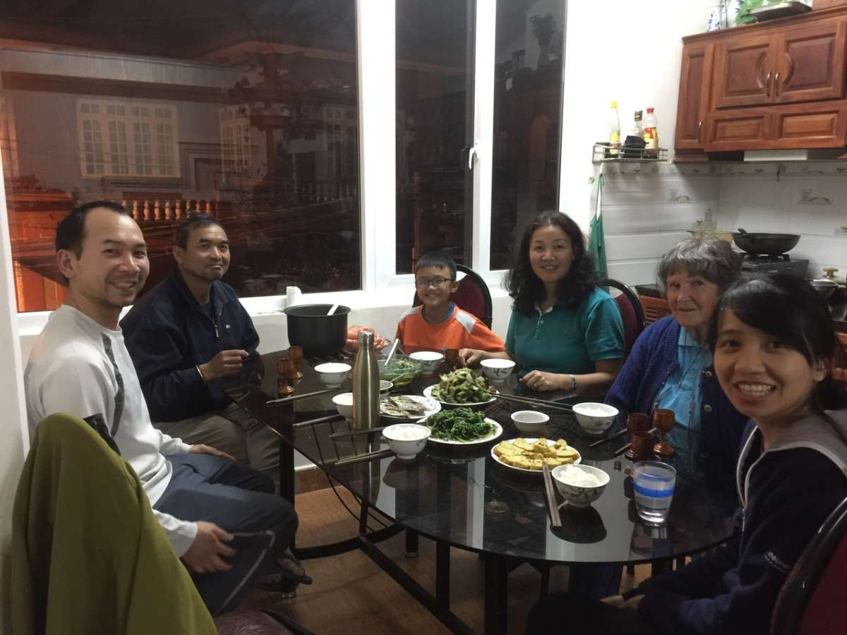 Host family in DaLat, Viet Nam