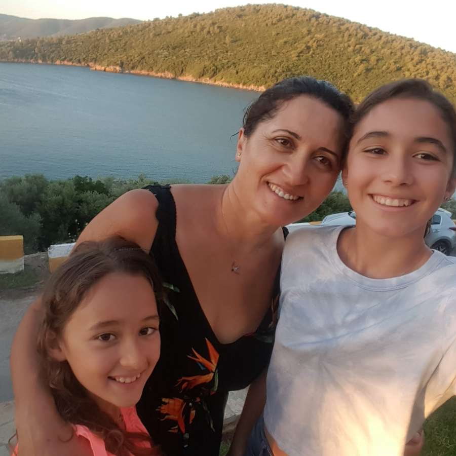 Host family in Mugla, Turkey