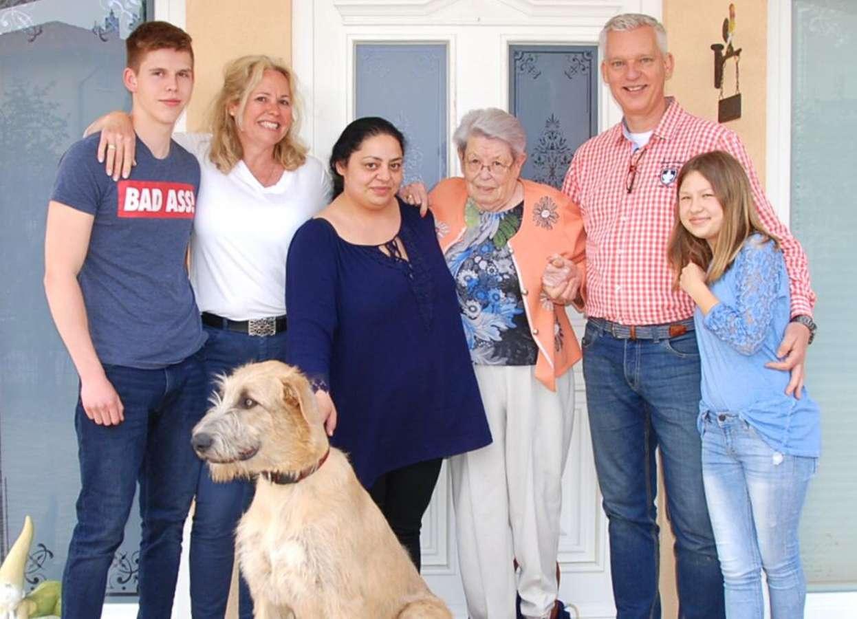 Host family in Rheinbach, Germany