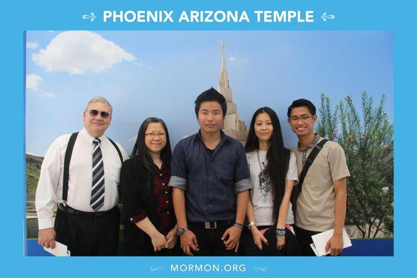 Host family in Tempe, United States