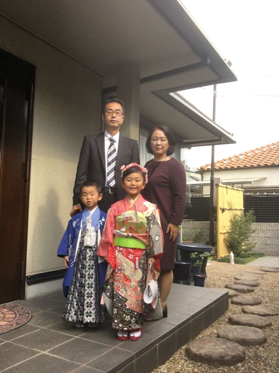 Host family in Kobe, Japan