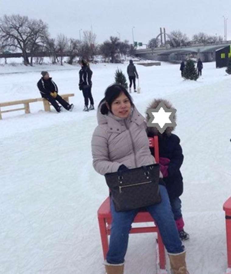 Host family in Winnipeg, Canada