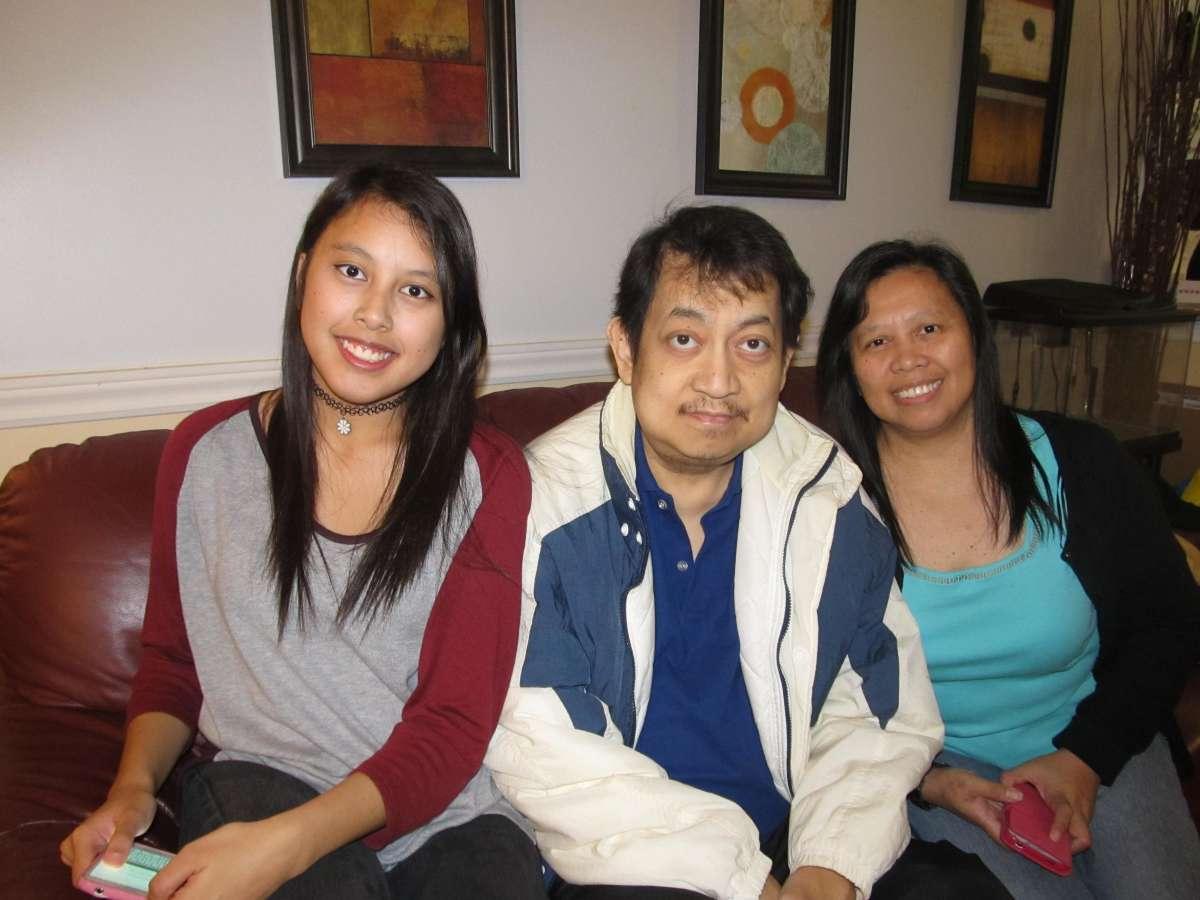 Host family in Scarborough, Canada