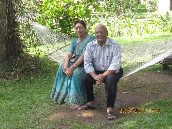 Host family in Mumbai, India