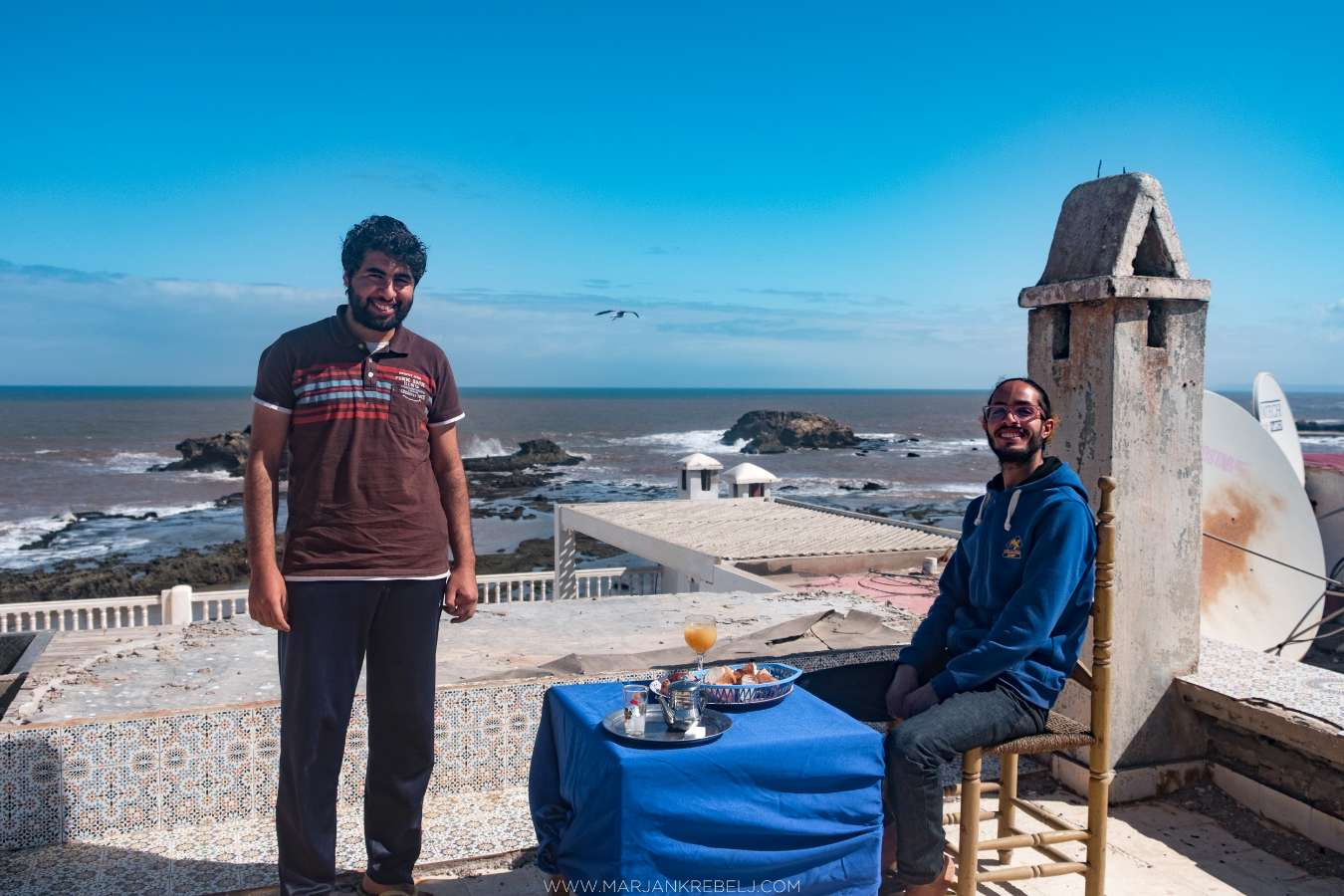Host family in Essaouira, Morocco