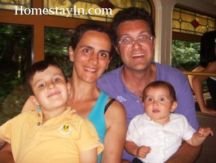 Homestay family Giovanni