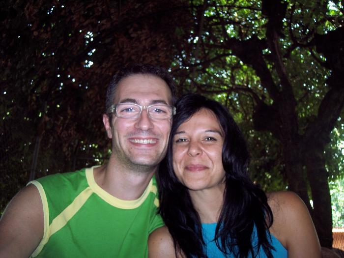 Host family in Noale, Italy