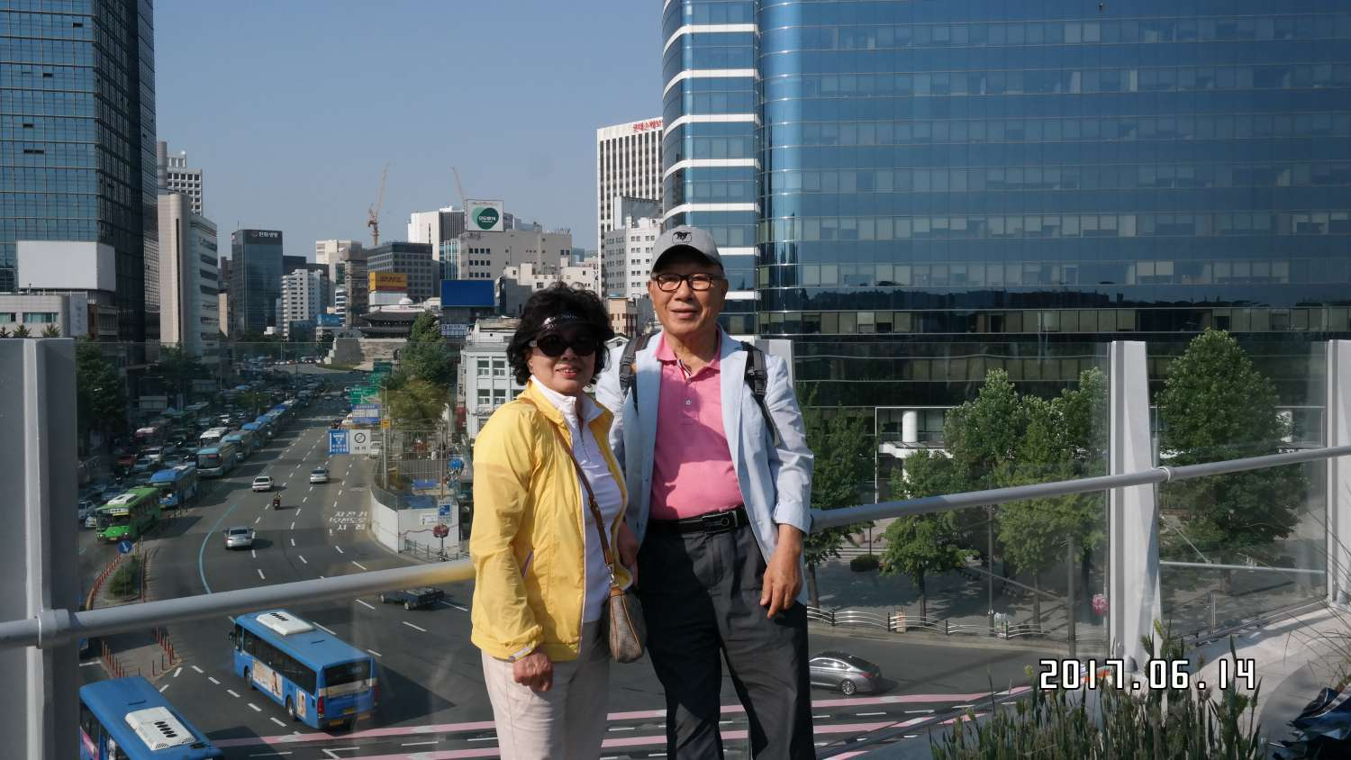 Host family in Goyang, South Korea