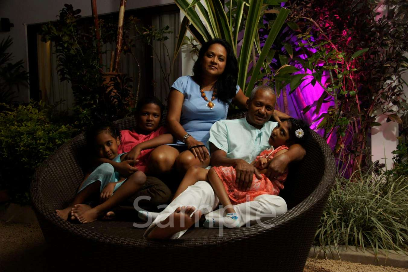 Host family in PortLouis, Mauritius