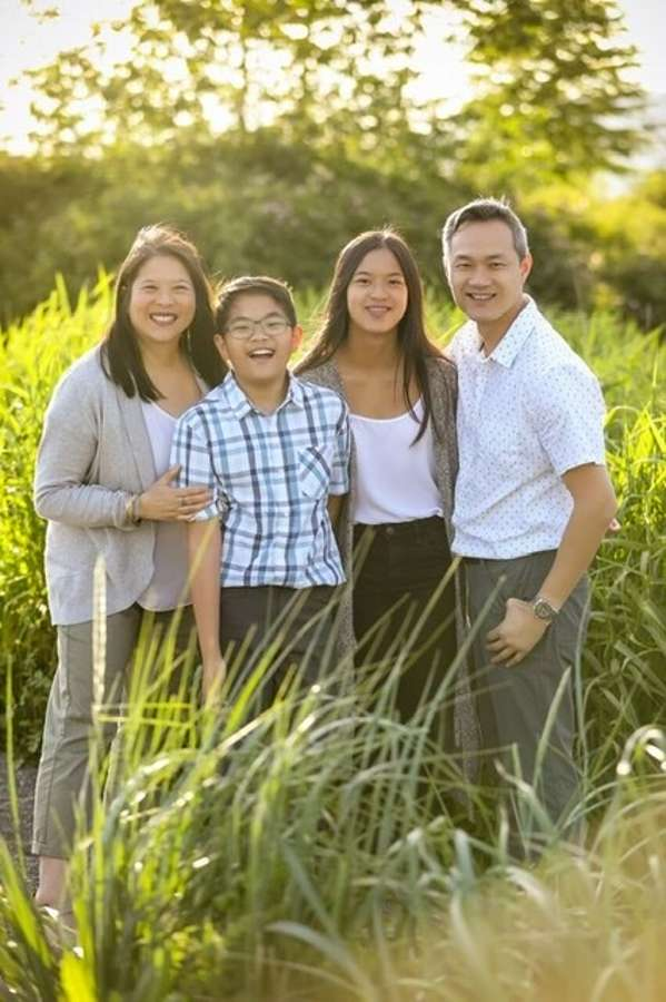 Host family in Burnaby, Canada