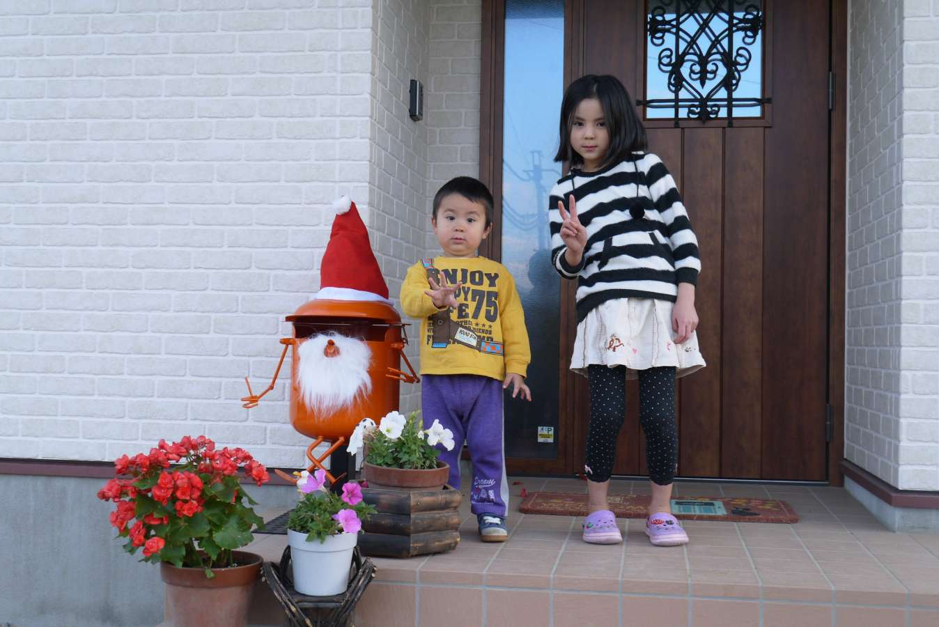 Host family in Nagano, Japan