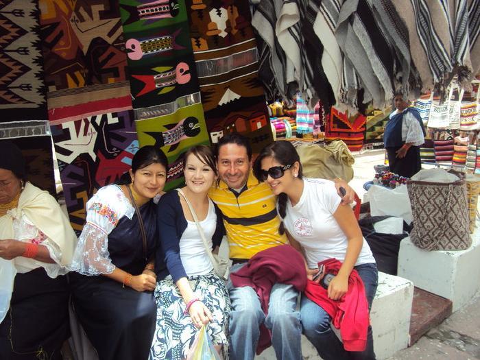 Host family in Quito, Ecuador