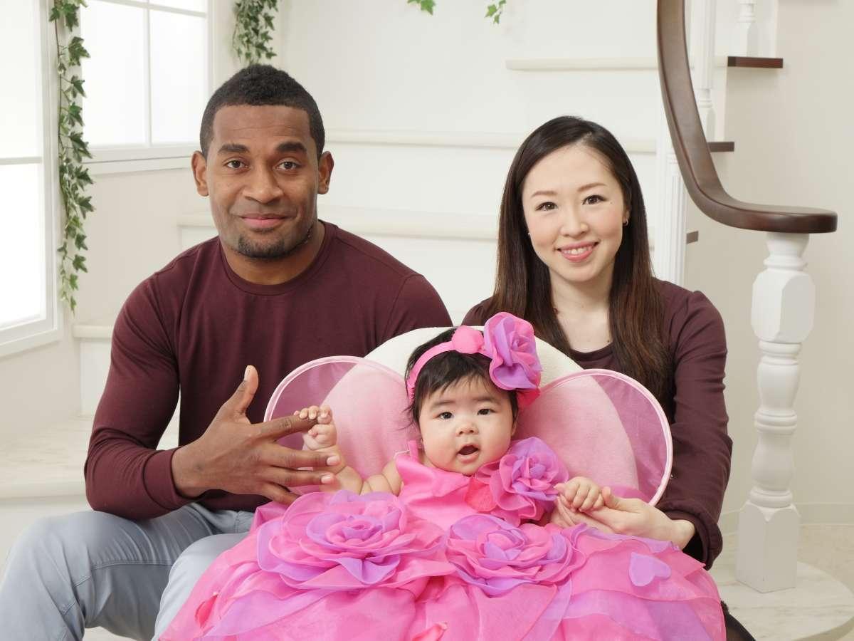 Host family in Fuchu, Japan