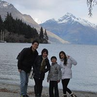 Host family in Waitakere, New Zealand