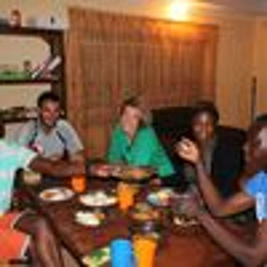 Host family in Livingstone, Zambia