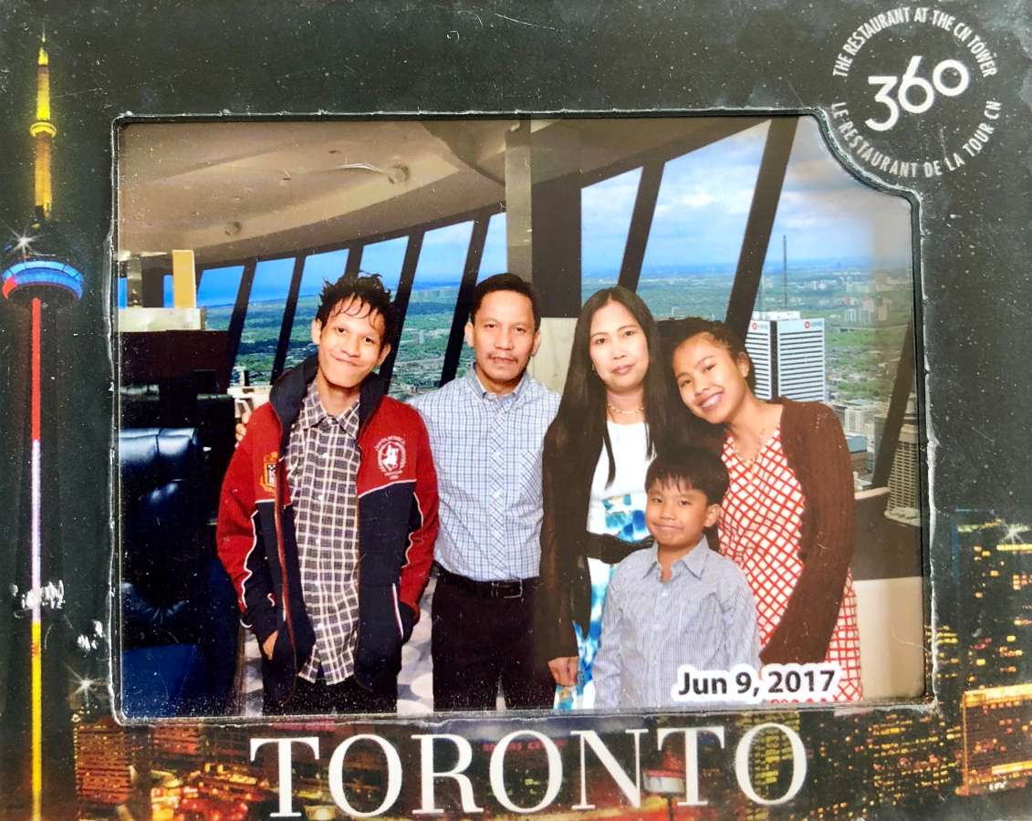 Host family in Toronto, Canada