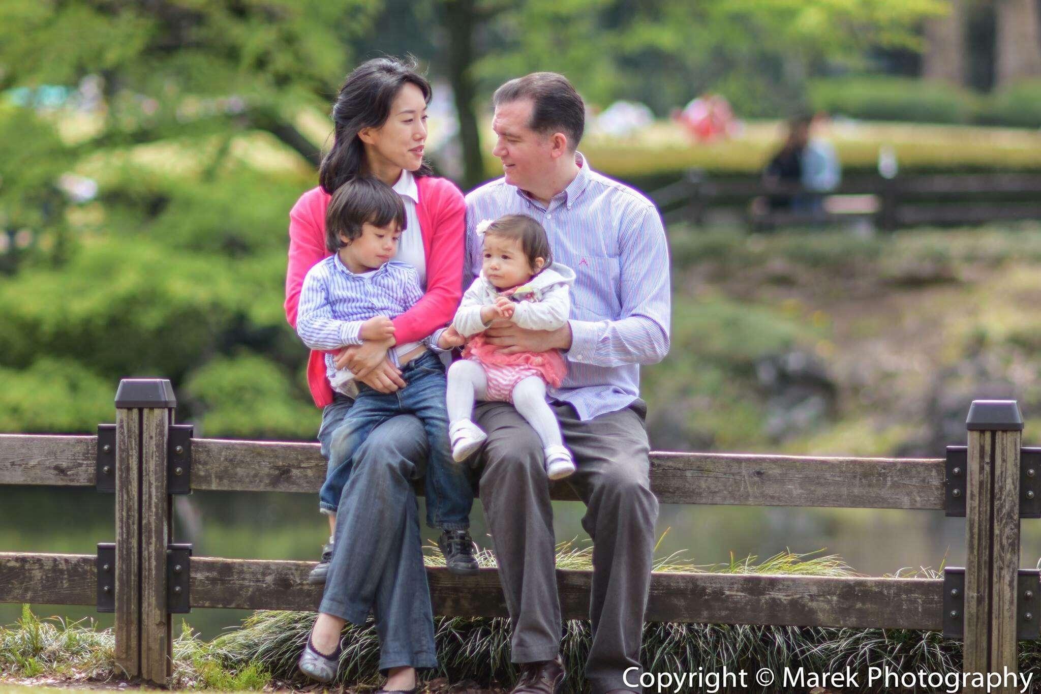 Host family in Sumida, Japan