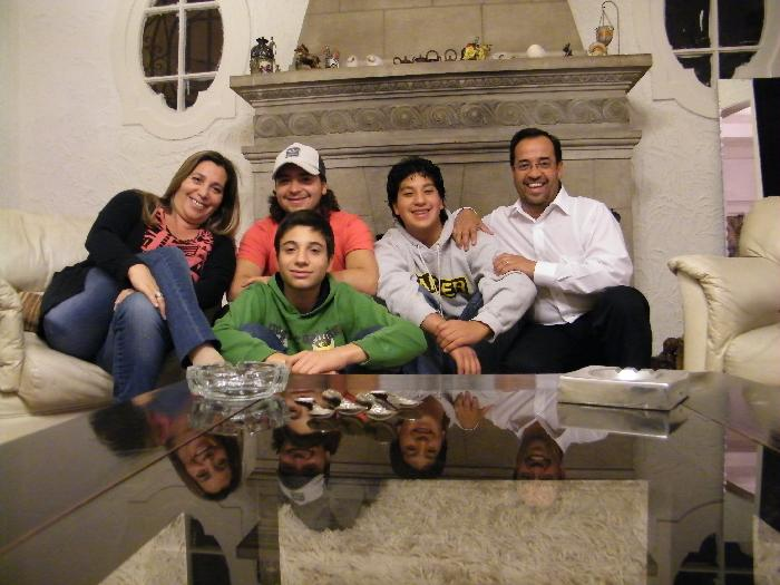 Host family in Vina Del Mar, Chile