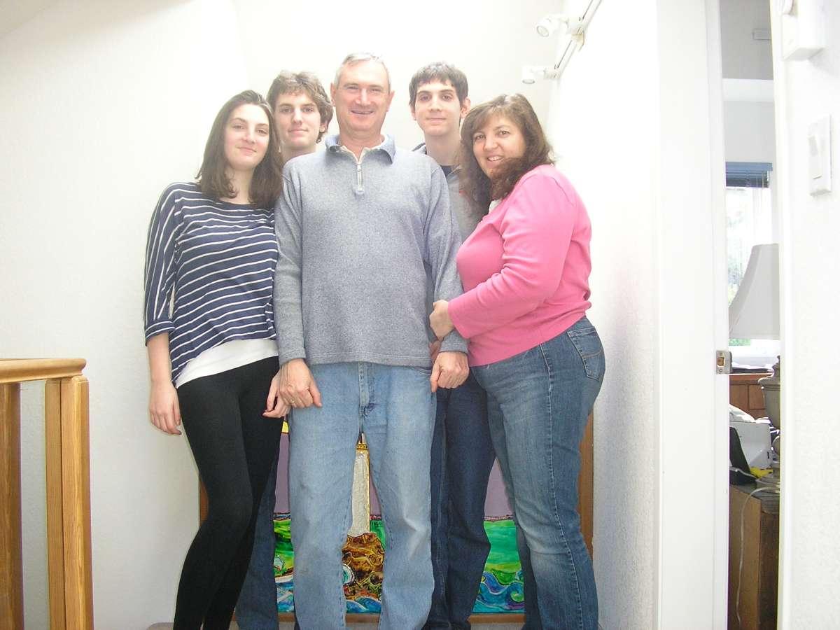 Host family in Victoria, Canada