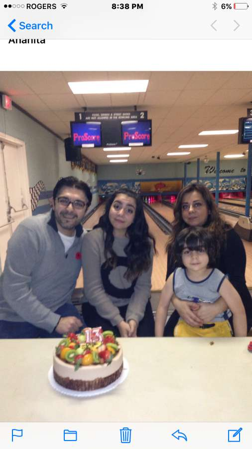 Host family in Port Coquitlam, Canada