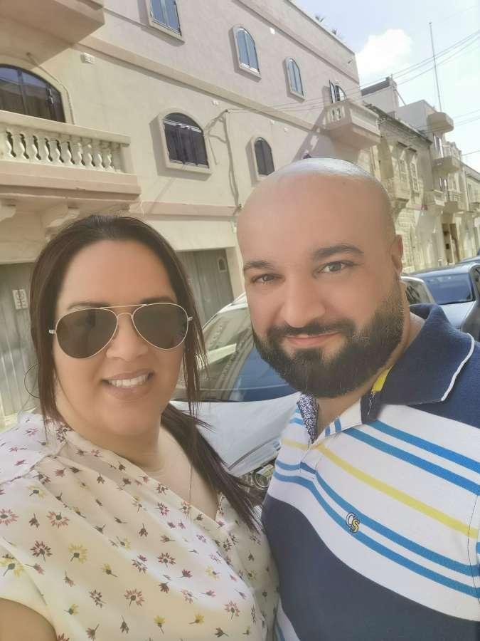 Host family in Zejtun, Malta