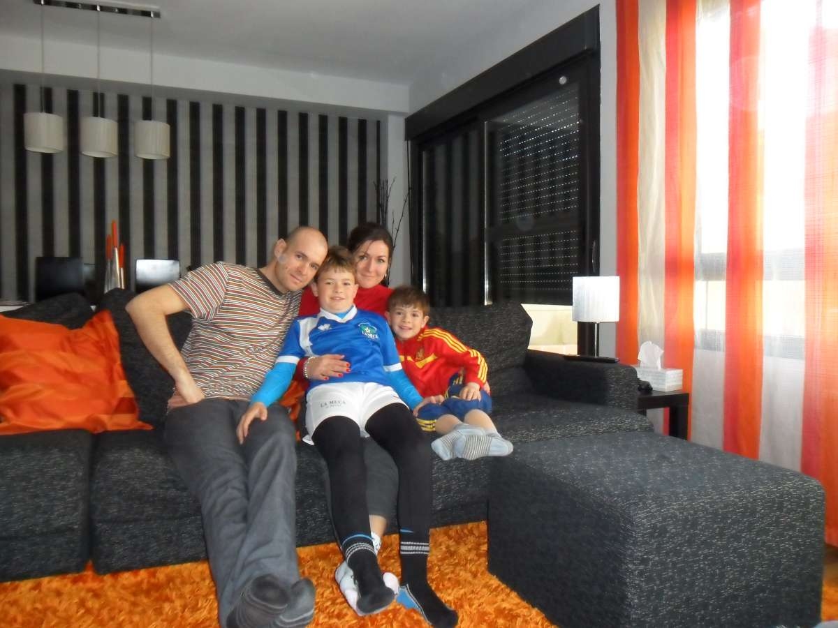 Host family in rivas-vaciamadrid, Spain