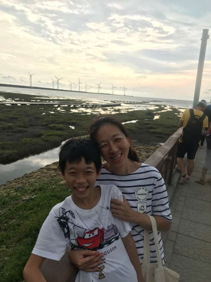 Host family in Taipei, Taiwan