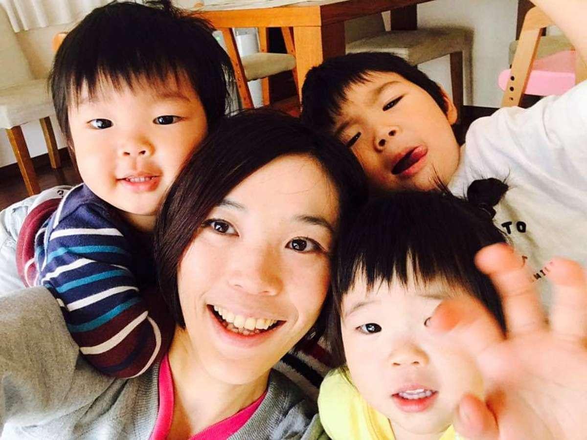 Host family in Koto, Japan