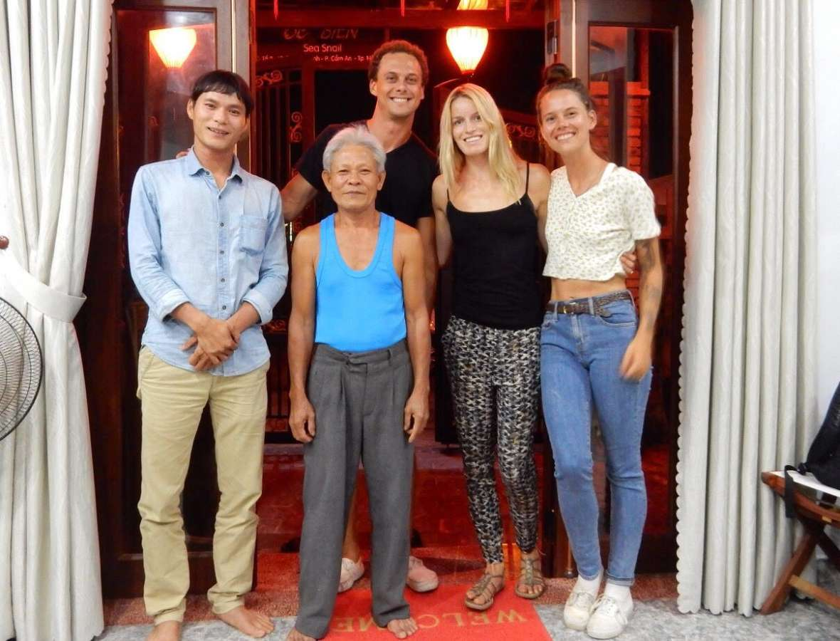 Host family in HoiAn, Viet Nam