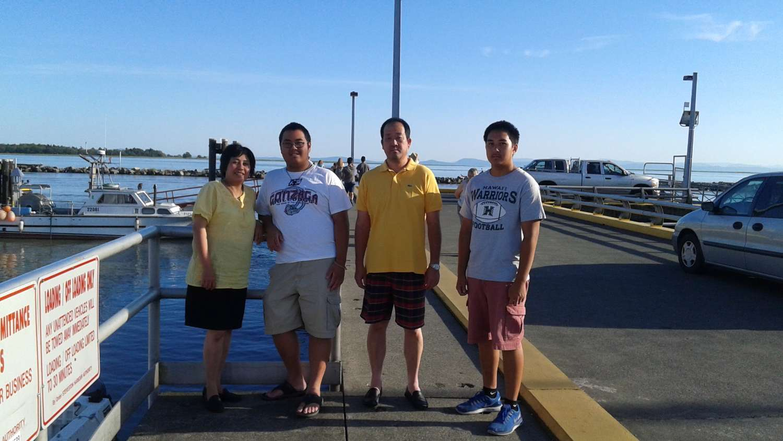 Host family in Richmond, Canada