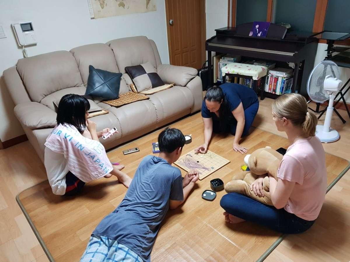 Host family in Seoul, South Korea