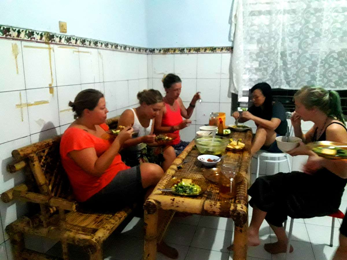 Host family in Manado, Indonesia