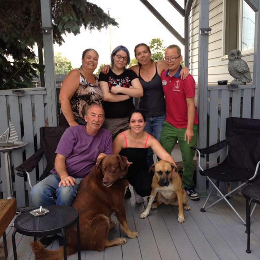 Host family in Spruce Grove, Canada