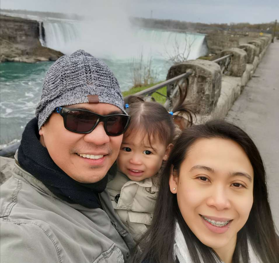 Host family in North York, Canada