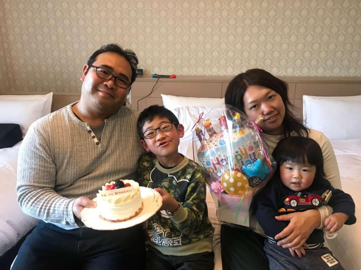Host family in Ageo, Japan