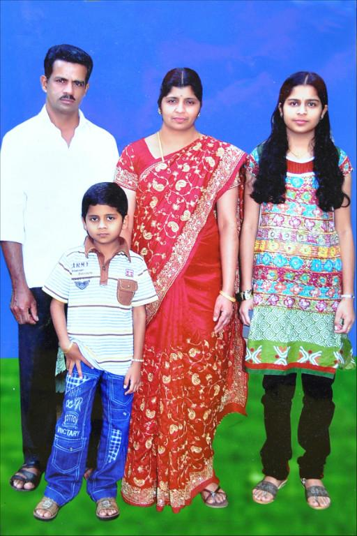 Host family in Wayanad, India