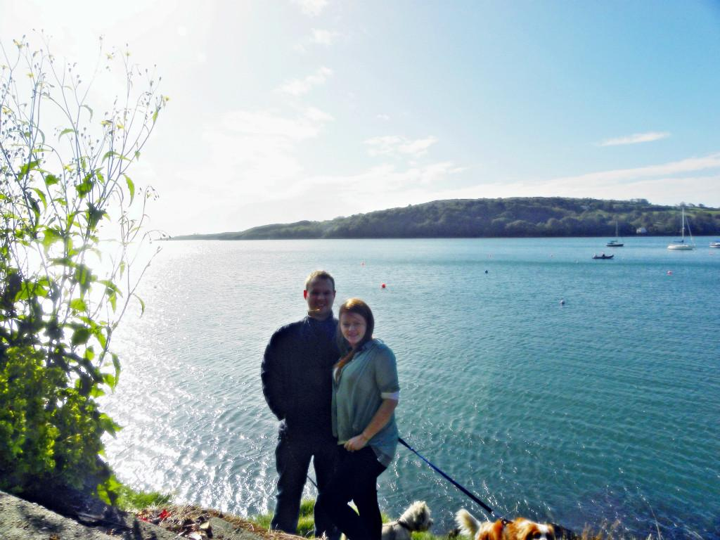 Host family in Schull, Ireland
