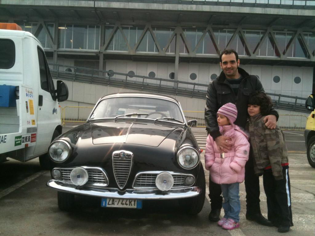 Host family in gravellona lomellina, Italy