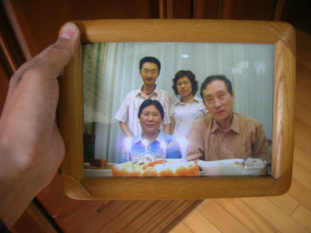 Host family in Dalian, China