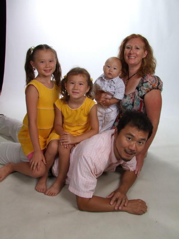Host family in Kitchener, Canada