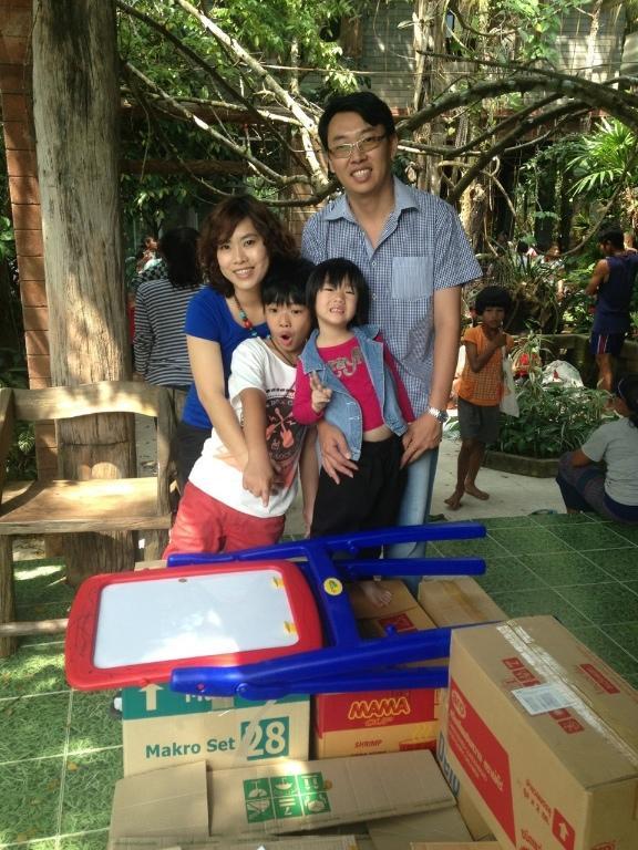 Host family in Nakhon Pathom, Thailand