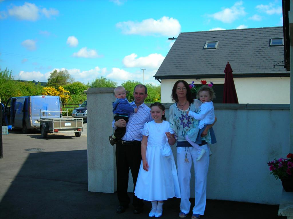 Host family in cork, Ireland