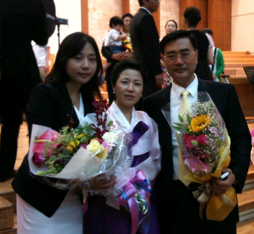 Host family in Seoul, South Korea