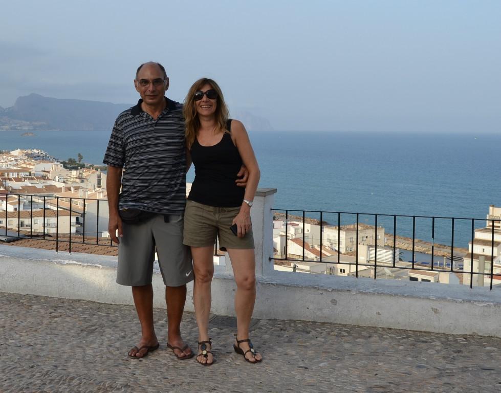 Host family in Alicante, Spain