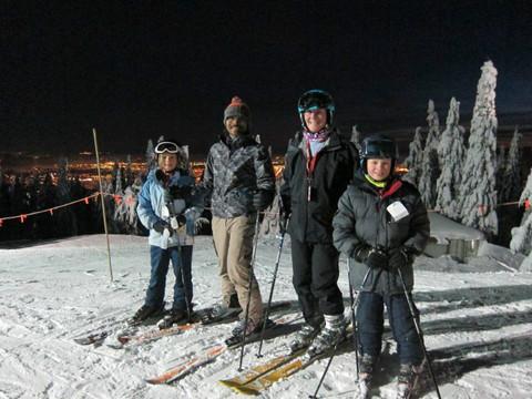 Host family in Port Moody, Canada