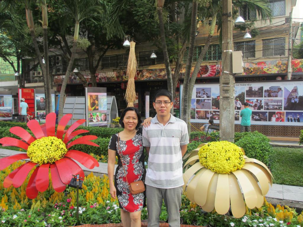 Host family in ThanhphoHoChiMinh, Viet Nam